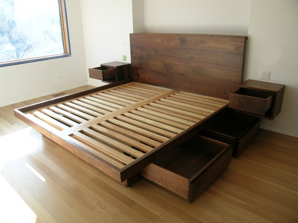 Japanese Beds With Storage Drawers Underneath Royals Courage Renovate Platform Storage Bed Frame