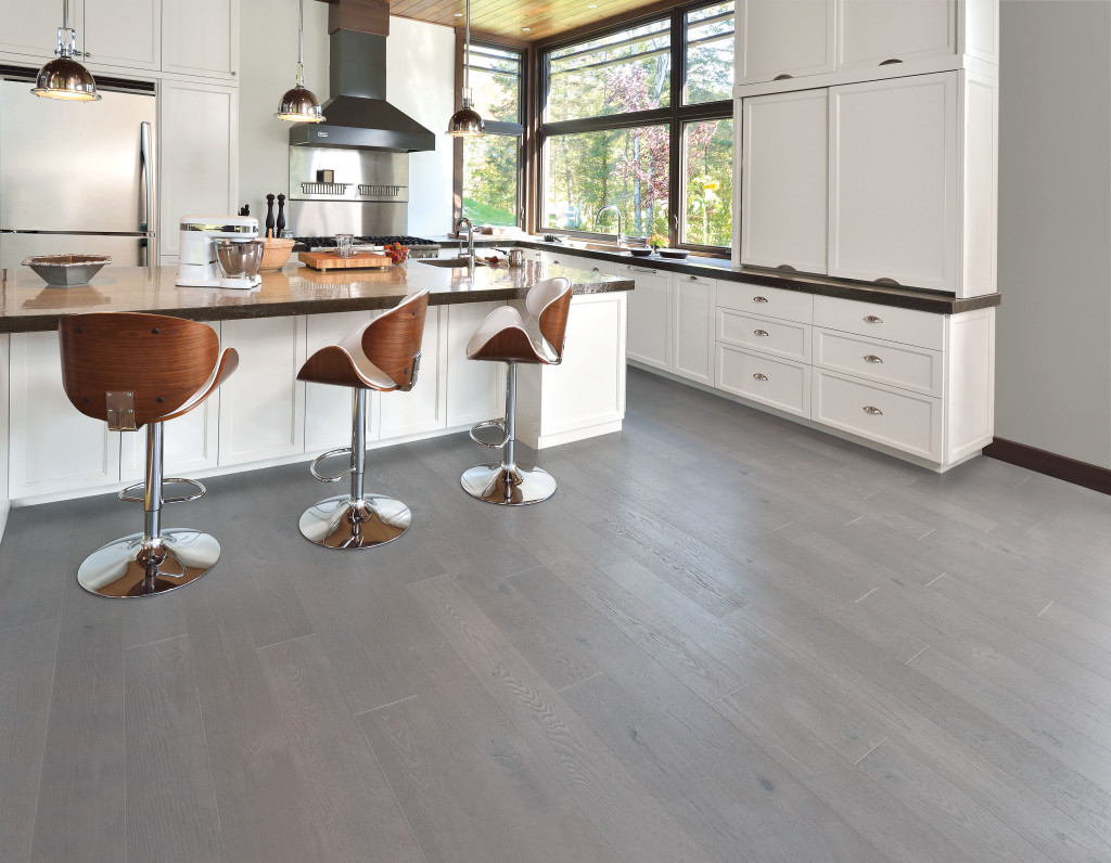 Kitchen Grey Floors White Cabinets Royals Courage Ideas Set Up
