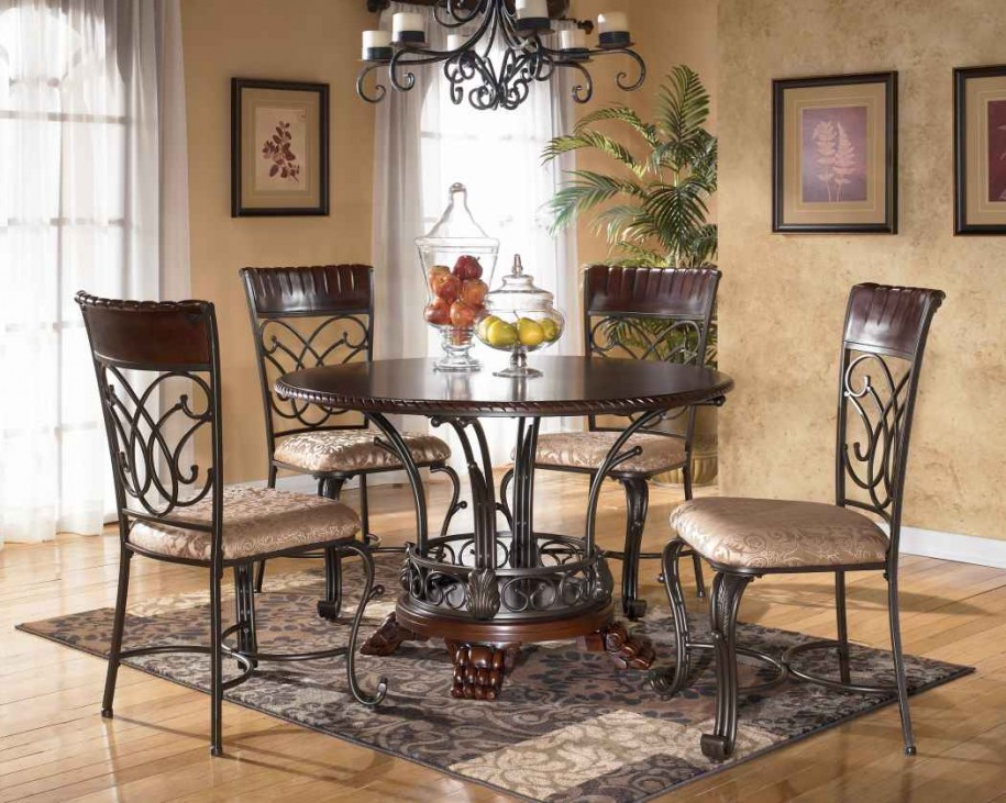 Large Round Dining Table Seats 2   Royals Courage : Tricks ...