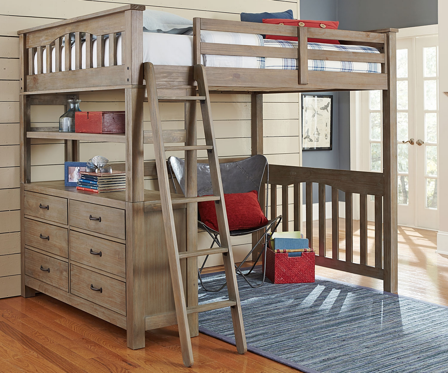Picture of: Loft Bed Full Royals Courage Queen Loft Bed For Grownup