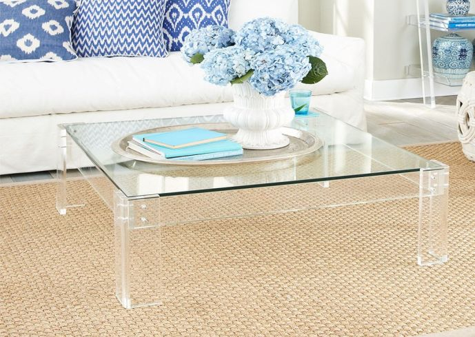 Lucite Coffee Table Plan Royals