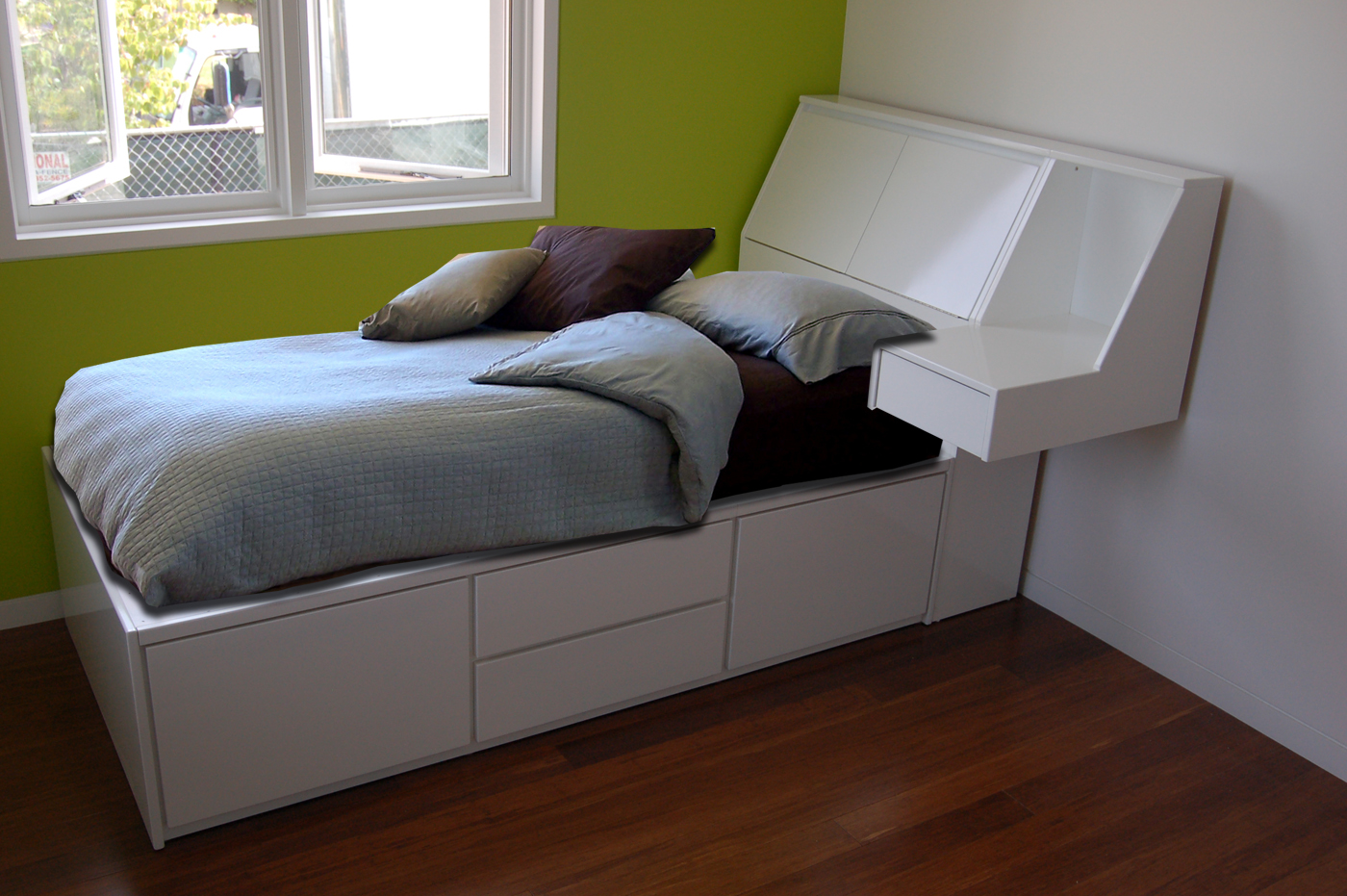 Renovate Platform Storage Bed Frame Royals Courage