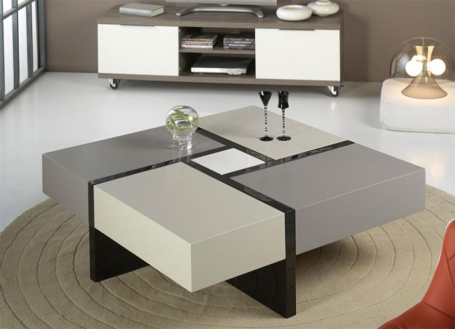 Modern White Coffee Table Royals