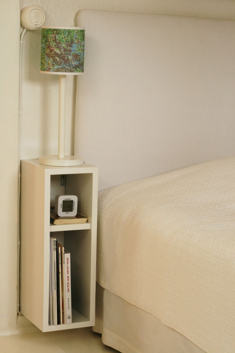 Narrow Bedside Table Night Stand