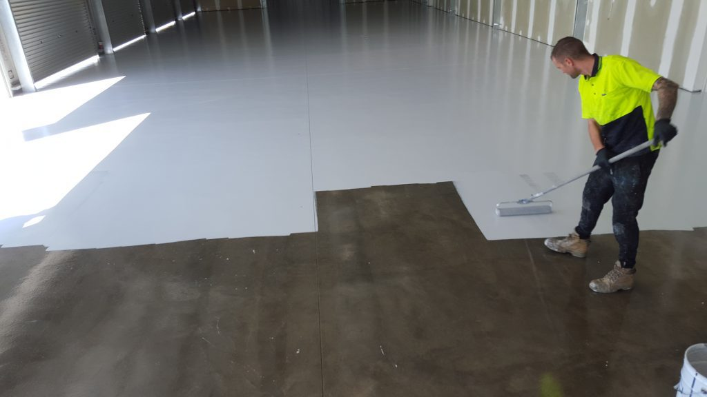 Painting Cement Floors Inside Royals