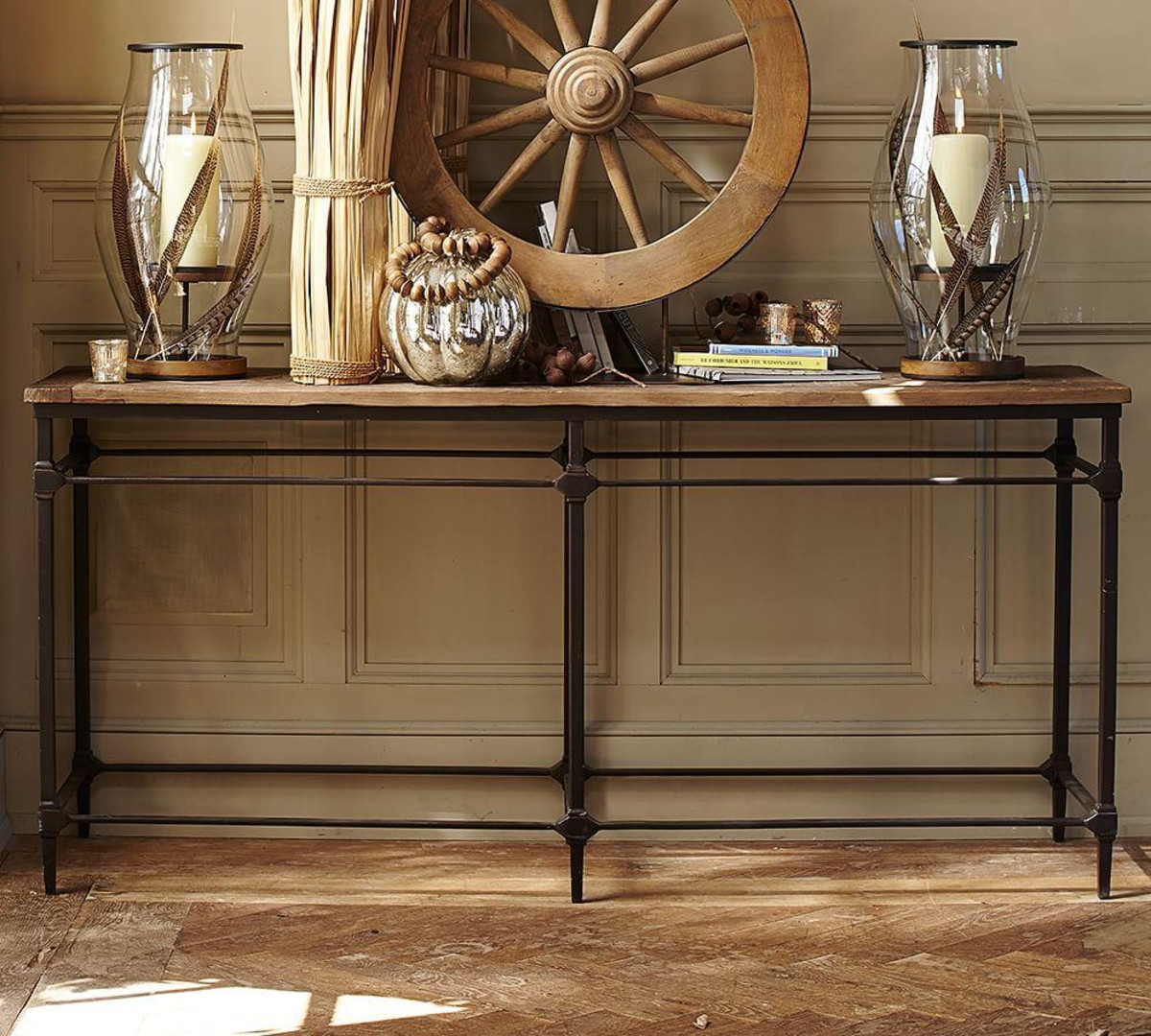 Dreamed Reclaimed Wood Console Table Royals Courage