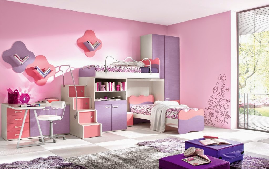 Purple And Pink Bedroom Paint Ideas Royals Courage
