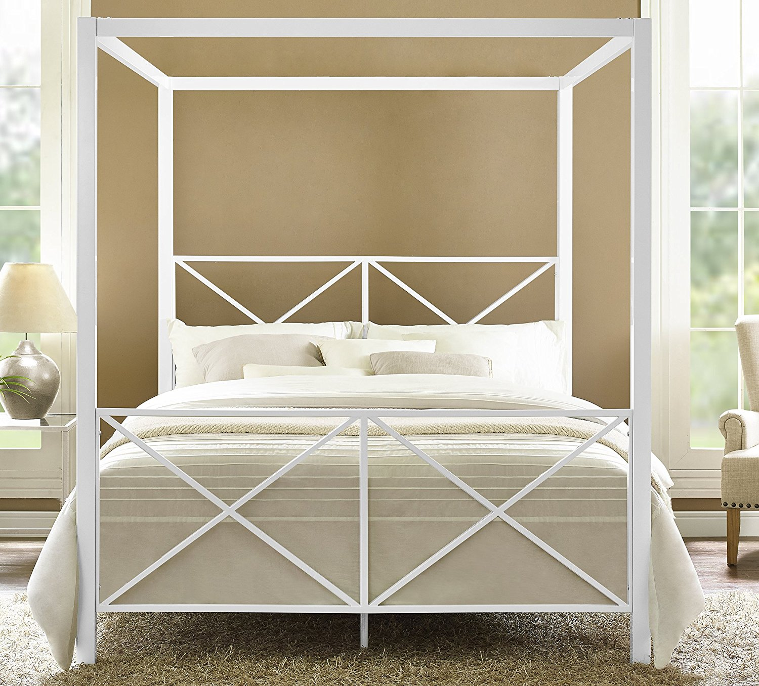 Queen Canopy Bed Frame Ikea Royals
