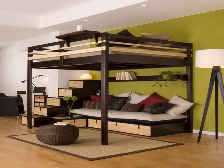 Queen Size Loft Bed Ikea Royals