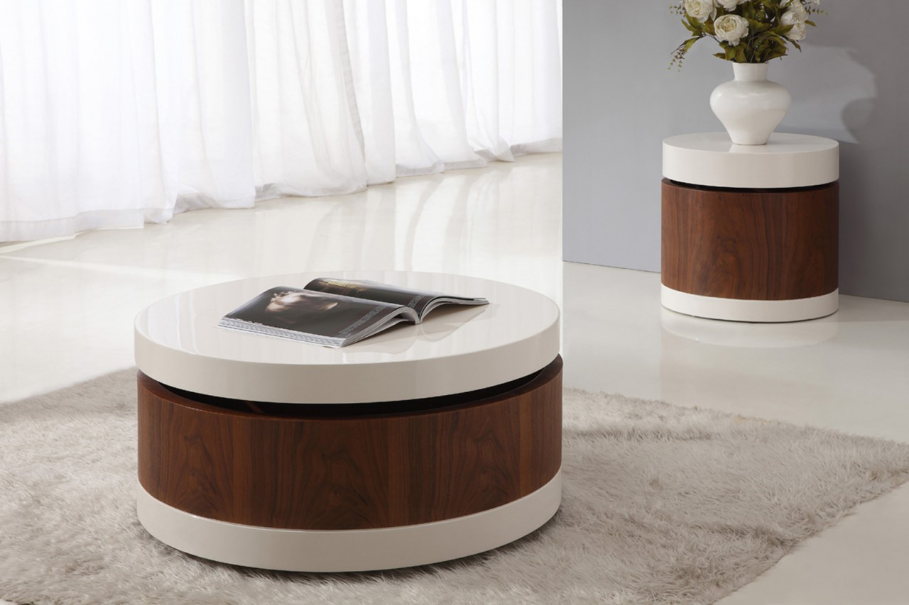 Picture of: Round Coffee Table Sets Royals Courage Dwelling Room Contemporary Coffee Table