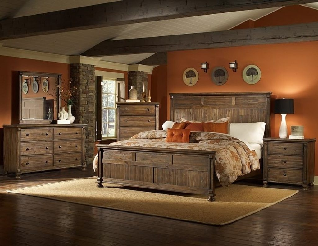 Astounding Rustic Bedroom Furniture Suites Royals Courage Heat And Home Interior And Landscaping Eliaenasavecom