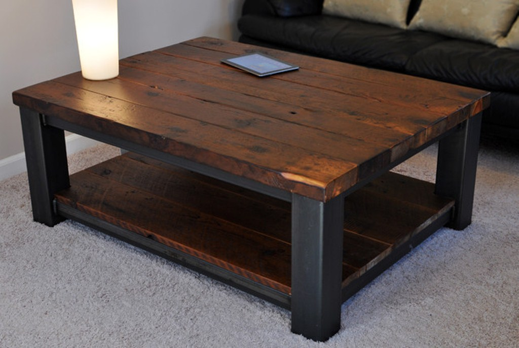 Rustic Square Wood Coffee Table For Stylish Concepts Royals Courage