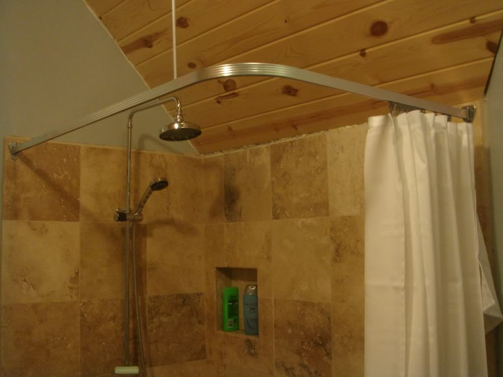 Key Concepts For Perfect Corner Shower Curtain Rod Royals Courage