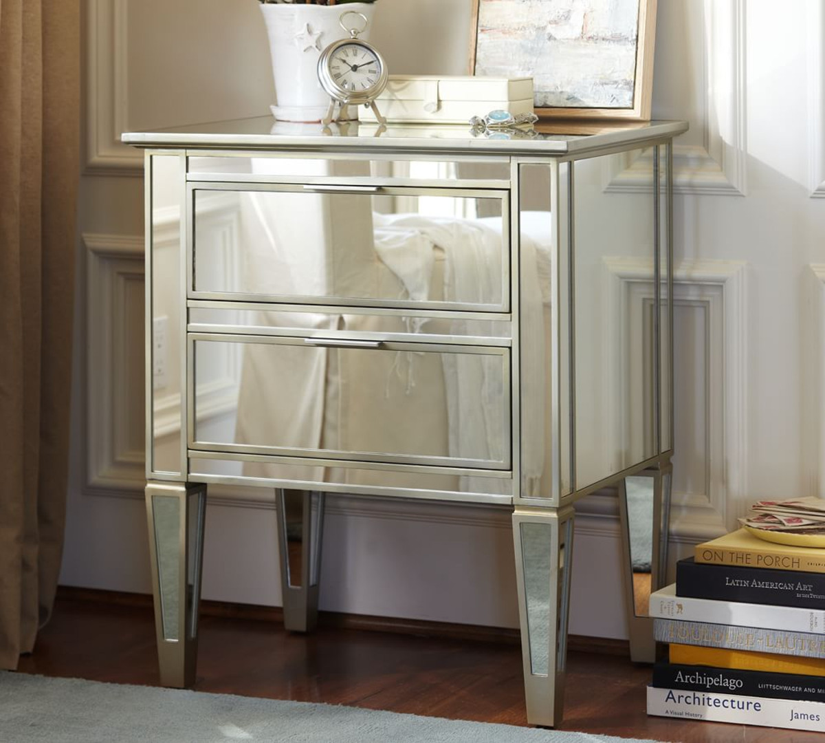 Silver Mirror Side Table Ikea Royals Courage Ornamental Merchandise Mirrored Bedside Table,Layout For Small Living Room With Fireplace