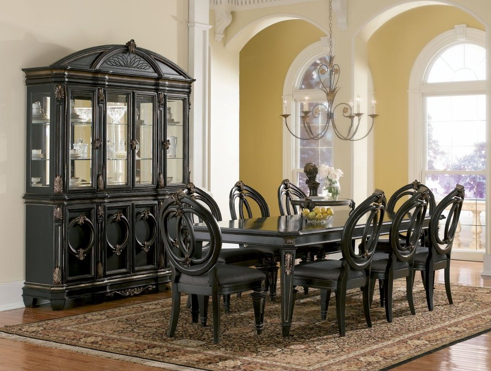 Black Kitchen Table Set For Elegant And Concepts