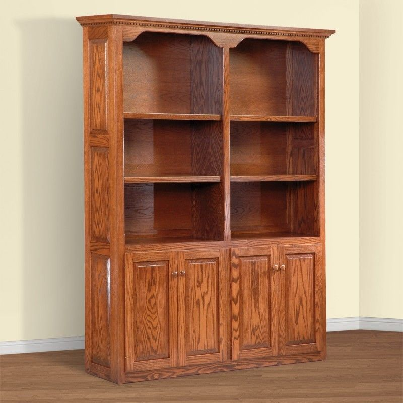 Solid Wood Bookcase Stylish | Royals Courage ...