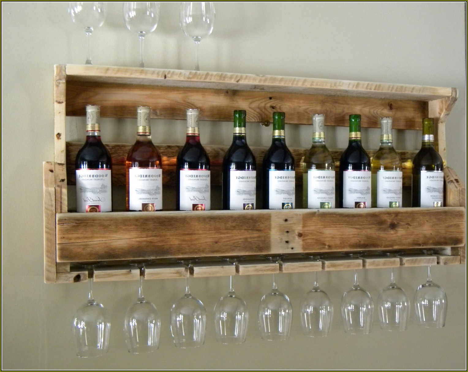 Beautiful Wine Gl Shelf