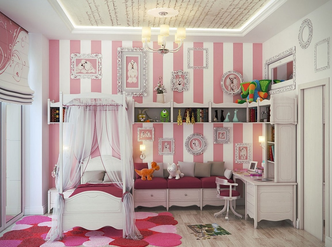 Purple And Pink Bedroom Paint Ideas | Royals Courage : Little Girls ...