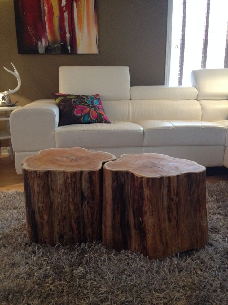 Tree Coffee Table Stump Royals Courage Selecting
