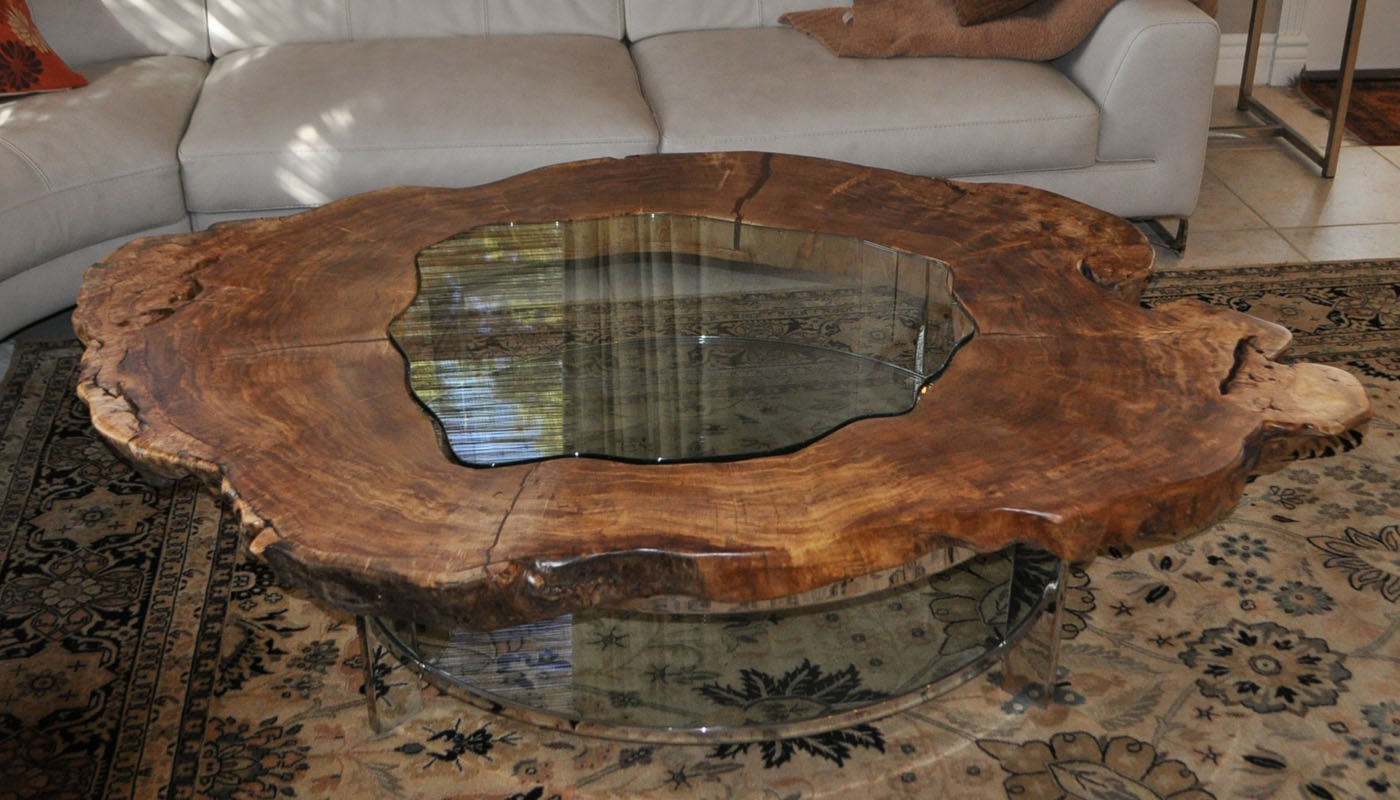 - Tree Trunk Coffee Tables Furniture Royals Courage : Tendencies