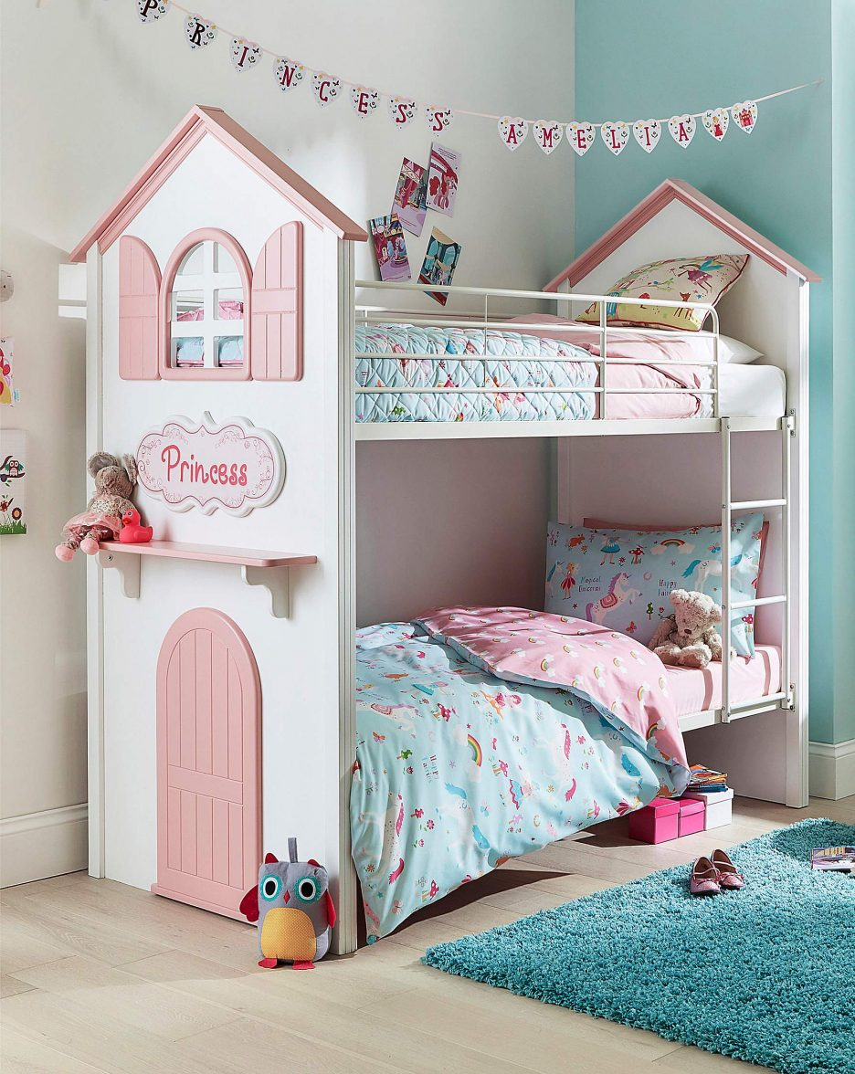 Twin Girls Princess Bedroom | Royals Courage : Fascinating ...