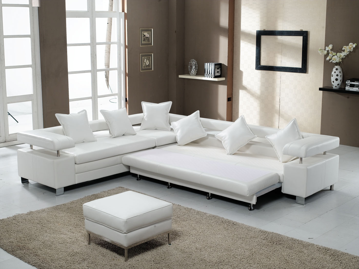 Superb Contemporary Sleeper Sofa | Royals Courage