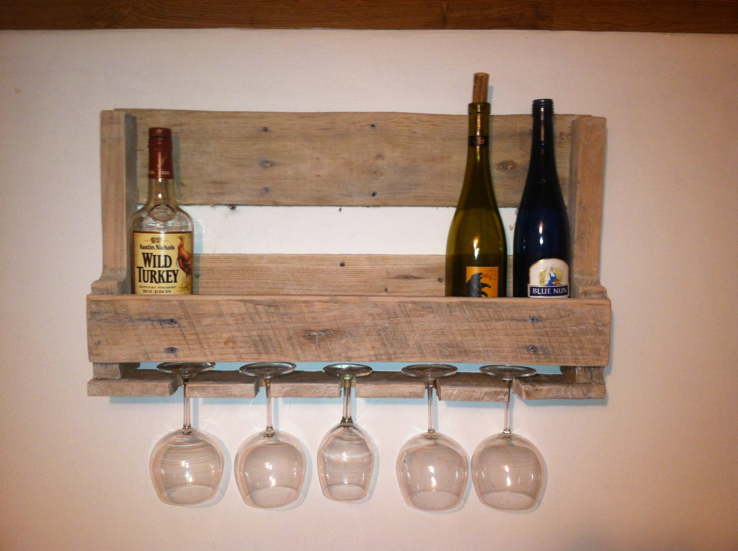 Wall Mounted Wine Bottle Rack Royals