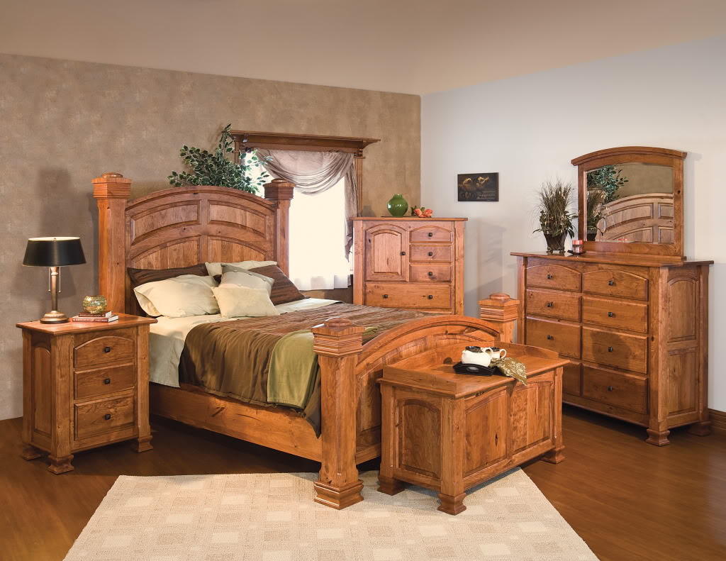 Western Bedroom Furniture Design | Royals Courage