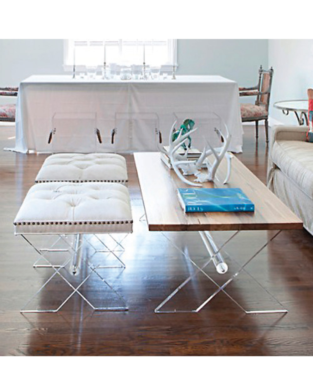 Lucite Coffee Table Ikea Royals Courage Acrylic Coffee Table Elegant In Dwelling Room