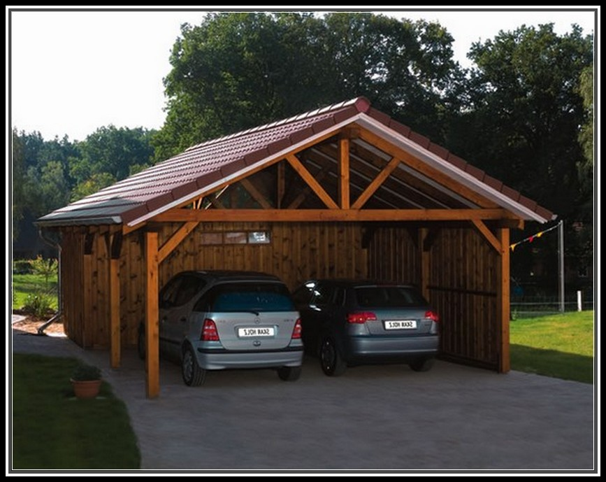 Wooden Carports For Royals
