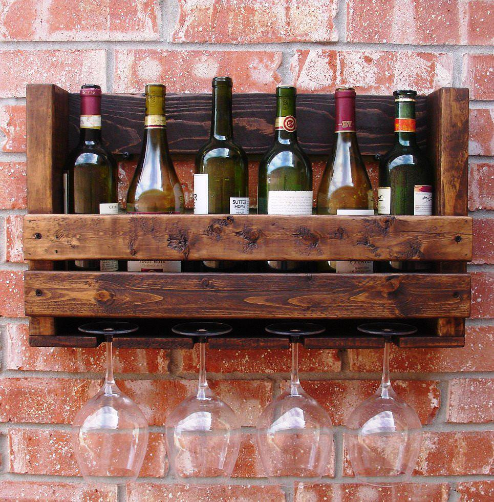 Wooden Glass Rack Royals Courage 24 Beautiful Wine Glass
